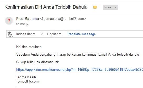 email-konfirmasi