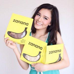 zanana kripik pisan - contoh foto untuk toko online
